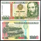 Peru 1000 Intis 1988 UNC P 136 b