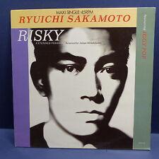 "MAXI 12"" RUYUICHI SAKAMOTO featuring IGGY POP  Risky 651017 6"