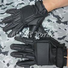 Airsoft SWAT Tactical Gear Full Finger Paintball Assault Combat Gloves Black