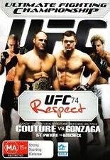 EX RENTAL UFC 74 DVD  RESPECT COUTURE VS GONZAGA ST-PIERRE VS KOSCHECKGUARANTEED