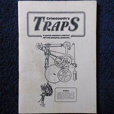 Grimtooth's Traps Advanced Dungeons & Dragons Adventure Module D&D 1st Edition