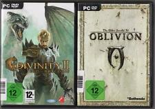 The Elder Scrolls IV 4 OBLIVION + Divinity 2 II Ego Draconis Collection Jeux PC