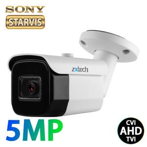 MiniBullet 5MP Analog Sony Sensor Outdoor Night Vision AHD TVI Security Camera