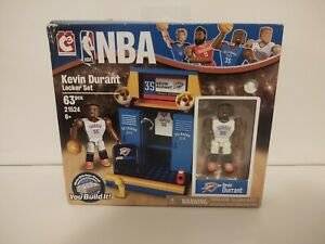 Kevin Durant - The Bridge Direct NBA Locker Room Set OKC #21520 BNIB