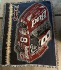 NASCAR Dale Earnhardt Jr Woven Tapestry Throw Afgan Blanket Budweiser #8