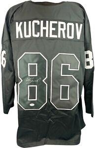 Nikita Kucherov signed jersey autographed NHL Tampa Bay Lightning PSA COA