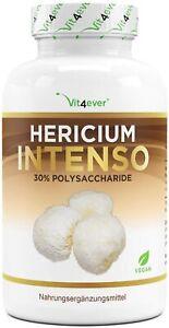 Hericium Erinaceus Pilz - 120 Kapseln - 650mg Extrakt 30% Polysaccharide - Vegan