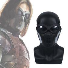 Captain America 3 Winter Soldier Buck Mask+Glass Buchanan/ Barnes Helmet Cosplay