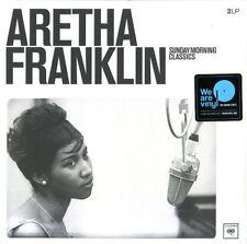 FRANKLIN ARETHA SUNDAY MORNING CLASSICS DOPPIO VINILE LP 180 GRAMMI NUOVO