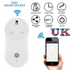 WiFi Smart UK Plug Wireless Timer Socket Alexa App Remote Control Power Switch