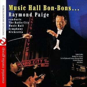 Raymond Paige - Music Hall Bon-Bons [New CD]