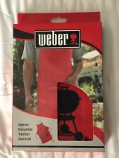 Weber Grill Apron.  DAD GIFT! free shipping!