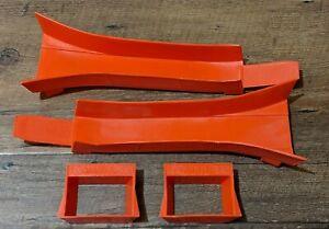 Vintage HOT WHEELS Redline Era LOT of 2 Sets Jump Ramps 6201-0750 / 6201-0760