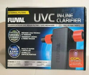Fluval UVC In-Line Water Clarifier Up To 100 US Gallons / 400 Liters A203 - NEW!