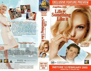 LIFE OR SOMETHING LIKE IT - VHS - Time Coded - Dealer Preview - PAL - AS NEW