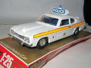 Dinky Toys - No. 2253  - FORD CAPRI POLICE CAR 1:25 - Exc Cond