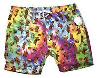 Scooby Doo Mens Hungry Swim Trunks Shorts New 3XL