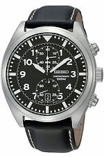 SEIKO SNN231P2,Men's CHRONOGRAPH,Military,STAINLESS STEEL CASE,100m WR, SNN231P2