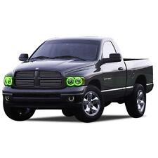 for Dodge Ram 1500 02-05 Green LED Halo kit for Headlights