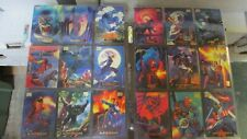 1994 Marvel Masterpieces Trading Card Complete Set w/ Complete Chase Card Sets