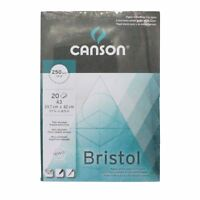 A3 Bristol Paper Canson extra smooth surface pad 250gsm