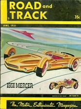 1951 Road & Track Magazine: 1951 Mercer