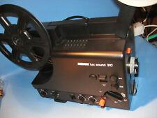 8 mm Film Projektor Revue lux Sound 310 für 250 m.Spulen,Tonfilm-films Projector