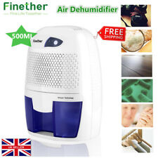 500ml Air Dehumidifier Home Portable Damp Moisture Bedroom Bathroom Kitchen Free
