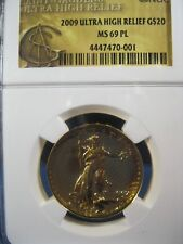 2009 $20 ST GAUDENS GOLD COMM NGC MS 60 PROOF LIKE