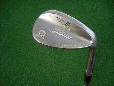 TITLEIST VOKEY SM4 58.09* LOB WEDGE N.S. PRO REGULAR FLEX STEEL USED RH