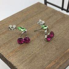 Cherry Purple Titanium Post Stud Earrings US Seller Made in Korea