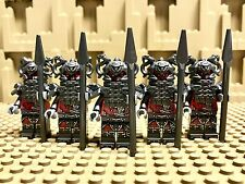 LEGO Ninjago Lot of 5 Vermillion warriors Rivett mini figures 70621