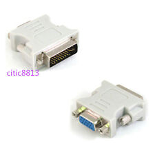 DVI to VGA SVGA Converter Adapter DVI-I Dual Link 24+5 pin Male to 15 Female CA