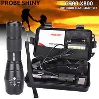 G700 X800 6000LM shadowhawk CREE T6 LED 26650 Flashlight Torch Lamp Light Kit UK