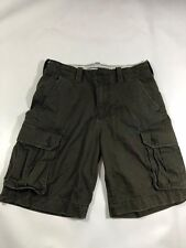 American Eagle Outfitters Men American Flag Cargo Shorts Size 30 Used Great Cond