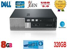 DELL OPTIPLEX i5 USFF-7010.3RD GEN. FAST.8GB.320 GB hd  .2.90 GHZ.3475s CPU