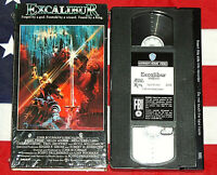 Excalibur (VHS, 1981) Nigel Terry, Helen Mirren, John Boorman, Fantasy Sword