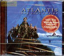 = soundtrack ATLANTIS the Lost Empire /score - James Newton HOWARD / CD sealed