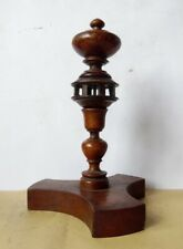 Antique wooden Rotating Pedestal Thread Holder*