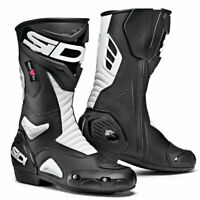 Sidi Performer CE Moto Motorcycle Bike Ladies Boots Black / White
