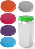 Silicone Soda Can Lids – Can Covers – Can Caps – Can Topper – Can Saver – Can –