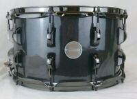 Click 8x14 Black Electric Sparkle 10ply Maple Snare Drum