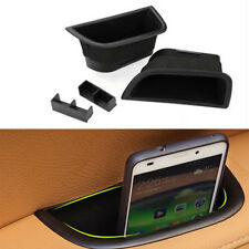 2x Side Door Handle Storage Box Case For Volvo S80 XC70 V70 Bin Tray Cup Holder