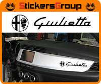 ADESIVI CRUSCOTTO GIULIETTA ALFA ROMEO STICKERS IN VINILE NEW