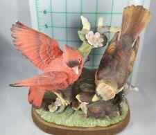 Vintage Josef Originals Porcelain Cardinals Figures 5 inches