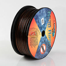 Road Rage 4 Gauge 100 FT Xtreme Hight Performance Wire Cables Black 100' 4 AWG
