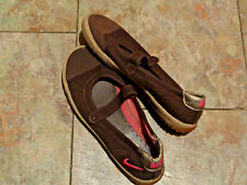 VtG brown nike mary janes tennis shoes size 7 1/2