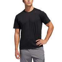 adidas Mens FreeLift Sport Prime Lite T Shirt Tee Top - Black Sports Gym