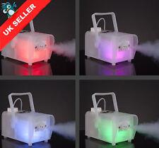 RGB Glowing Smoke Machine Fog Mist Foffer Effect LED DJ Disco Home Pub Halloween