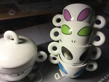 Illy Espresso Tassen Set Alien Cups by David Byrne ! NEU !